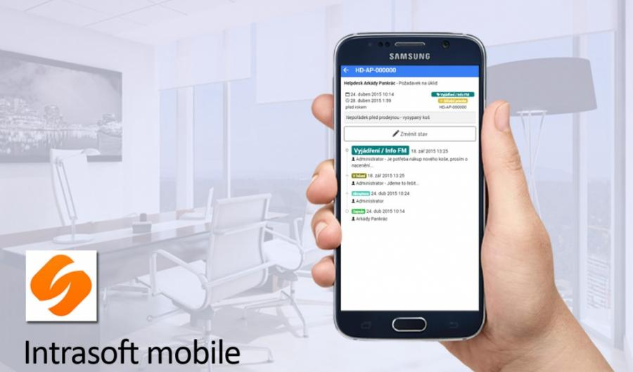 Intrasoft mobile - aplikace pro firemní intranet