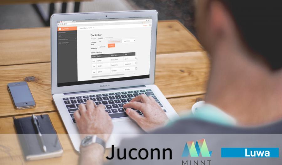 Juconn - chytrý nástroj pro sběr dat
