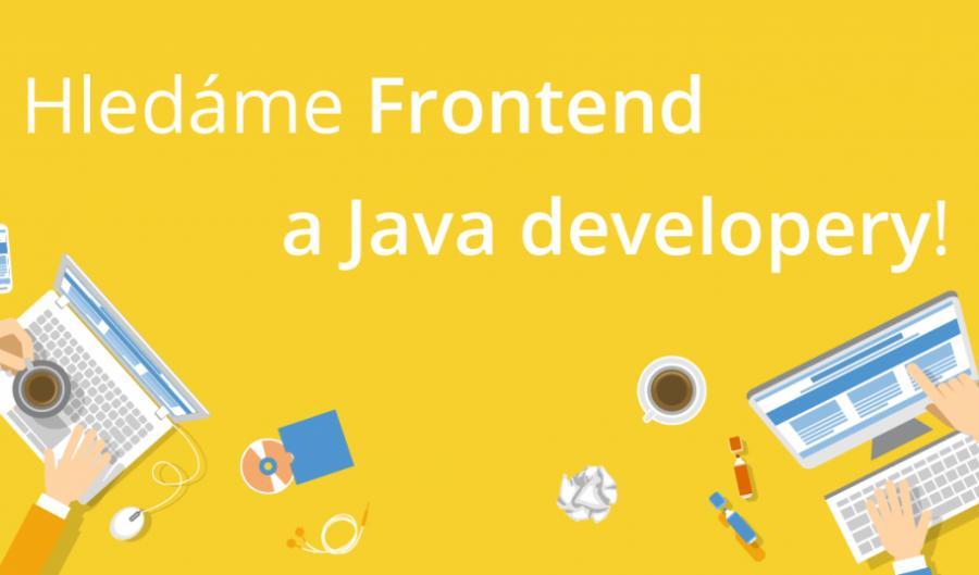 Přidej se k nám! Hledáme Java a Frontend developery!