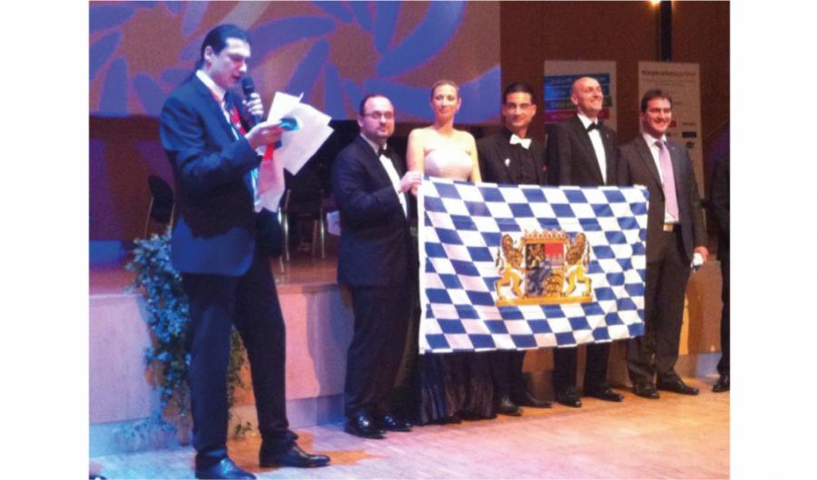 Vojtěch Kačírek na zemské konferenci mladých bavorských podnikatelů LAKO 2014 Hof