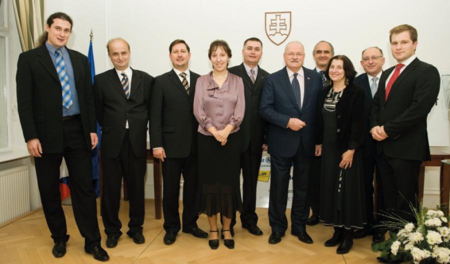 Prezident JCI ČR při setkání s prezidentem SR
