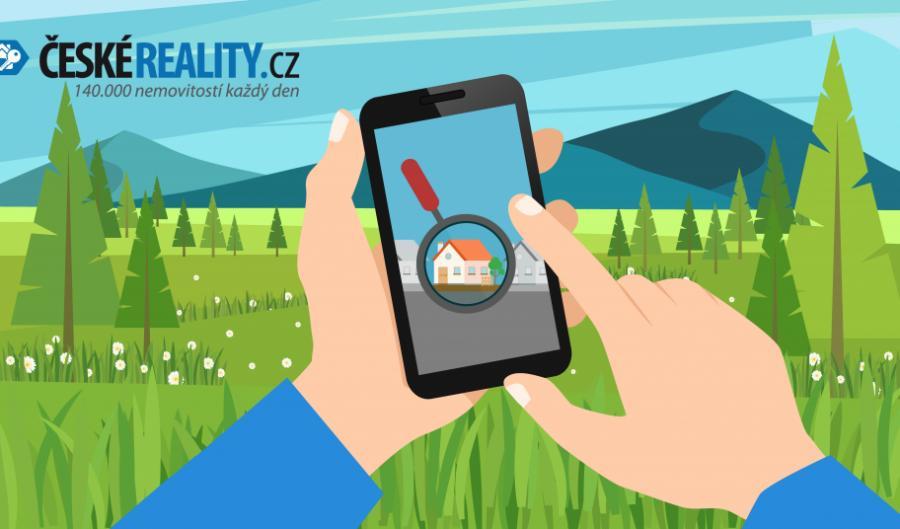 Hledáte nemovitosti v mobilu? S naší aplikací Vám už žádná neunikne!