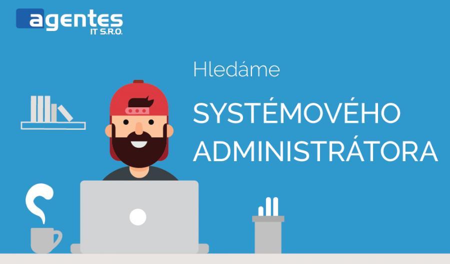 Hledáme kolegu na pozici systémového administrátora!