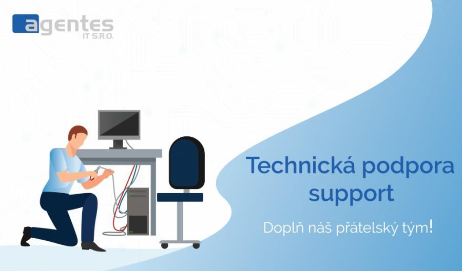 Sháníme nového kolegu do rostoucího oddělení IT supportu