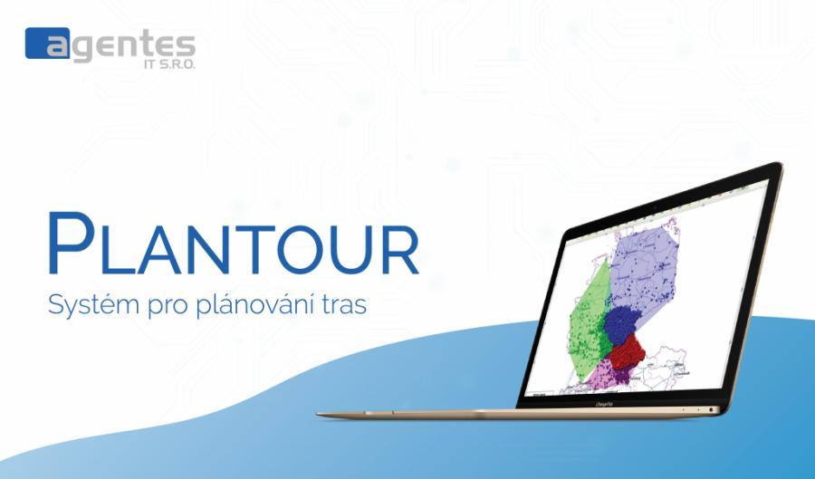 Plantour - systém pro plánování tras a řízení distribuce