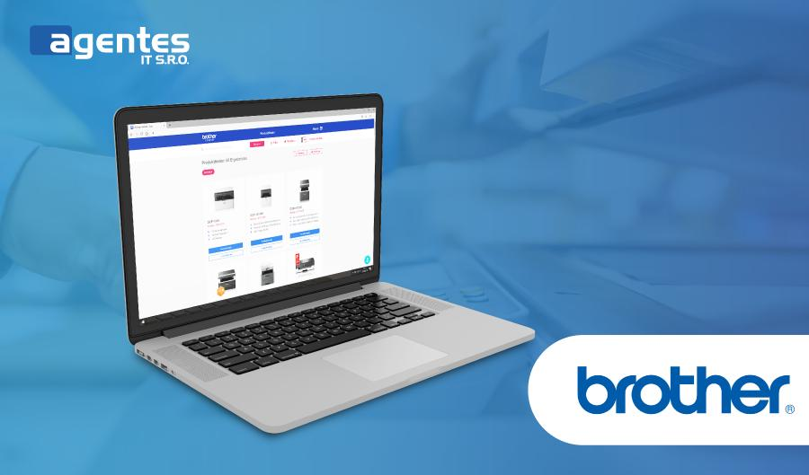 Rozvoj aplikace pro společnost Brother