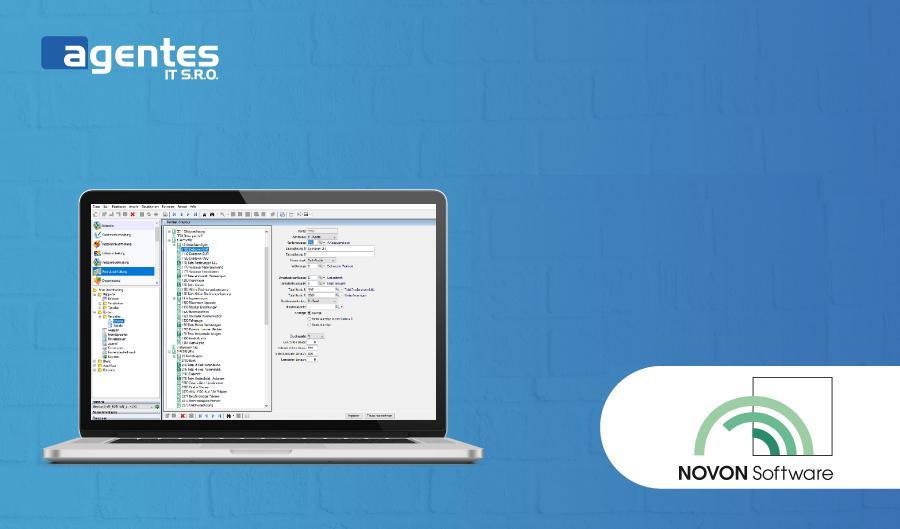 Vývoj informačního systému NOVON Software